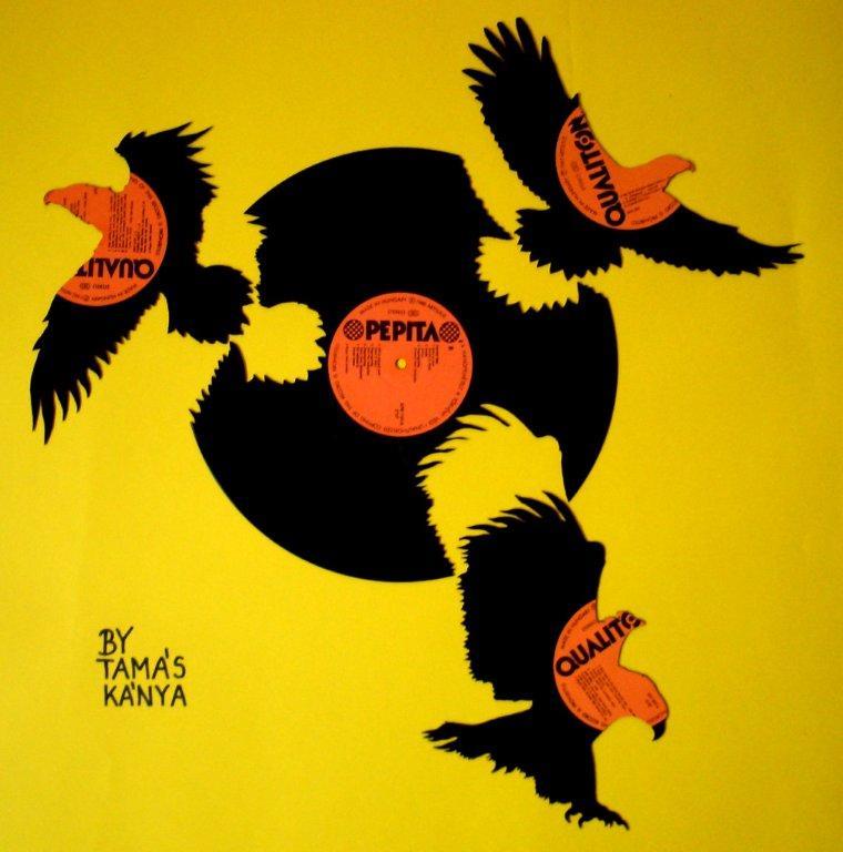 Eagles - Art by Tamas Kanya