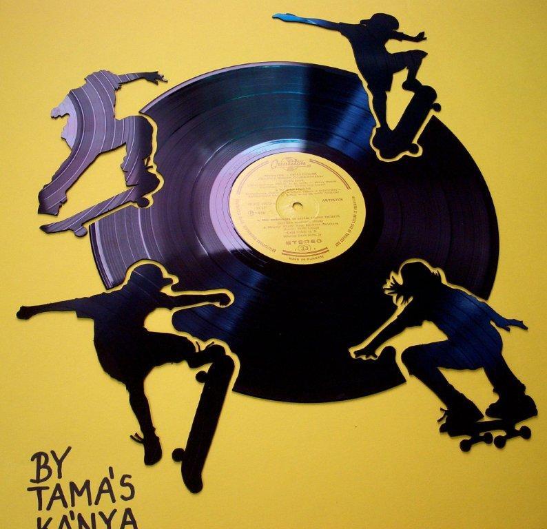 Skateboarders - Art by Tamas Kanya