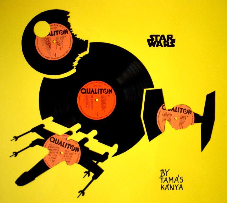 Star Wars - Art by Tamas Kanya