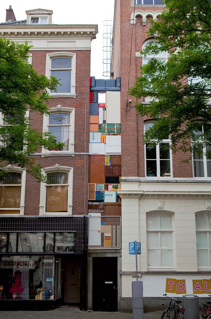 Tetris - Witte de With - Installation by Michael Johansson