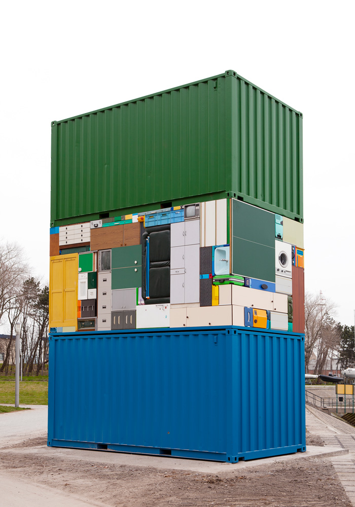 The Move Overseas - Installation by Michael Johansson