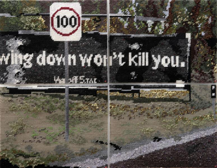 Slowing Down Won't Kill You – Needlework by Michelle Hamer