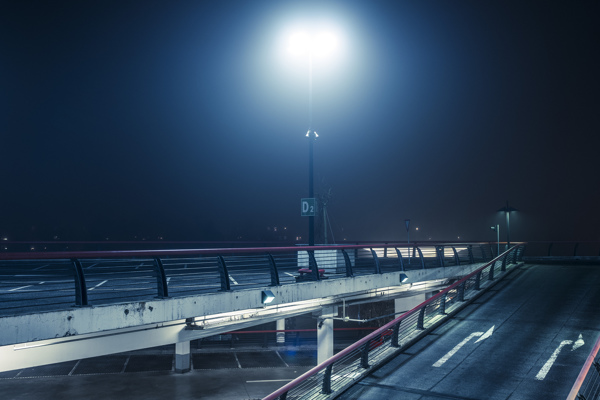 At Night #2 - Photograph by Andreas Levers