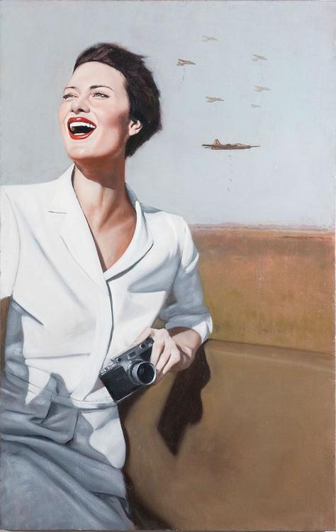Dulce et Decorum Est - Painting by Brian Brown