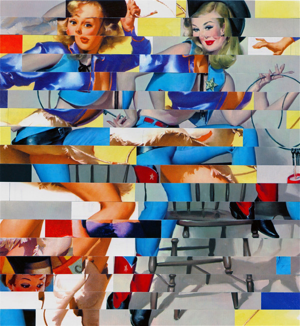 Yasmin & Yardley - Collage by Wayne Edson Bryan