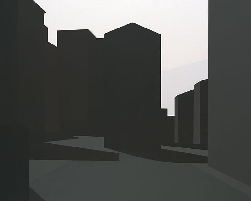 Buildings - Painting by Fernando Martín Godoy