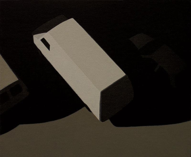 Van  - Painting by Fernando Martín Godoy
