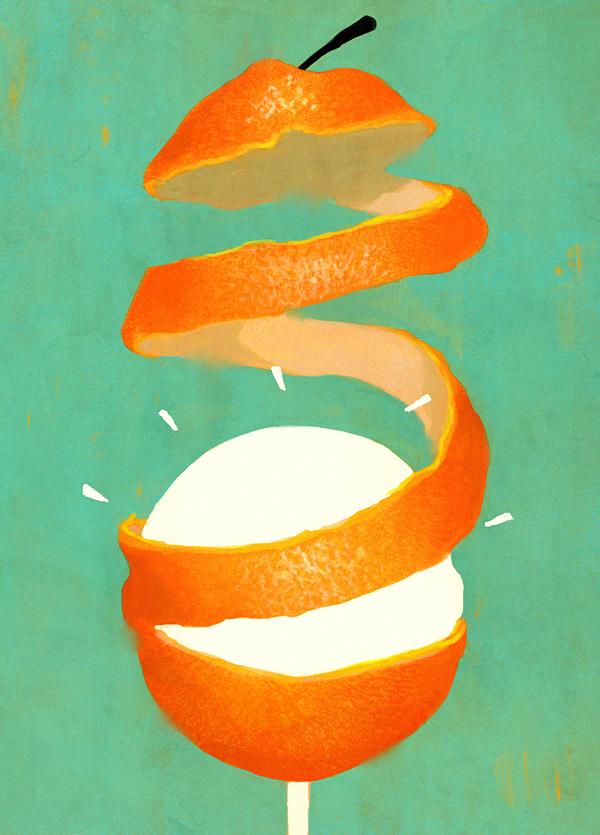 100 Percent Organic - Illustration by Fredrik Rattzen