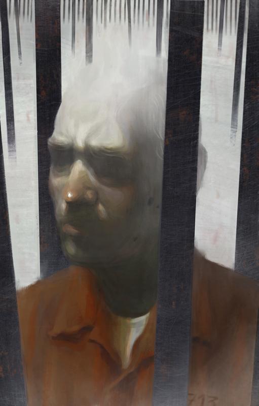 Dementia Behind Bars - Illustration by Fredrik Rattzen