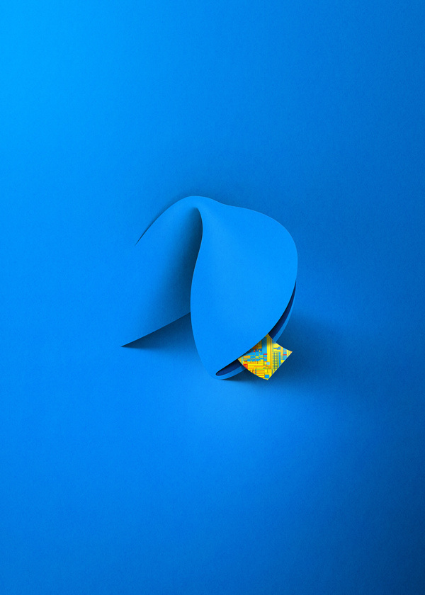 Intel Fortune Cookie Ad - Illustration by Eiko Ojala