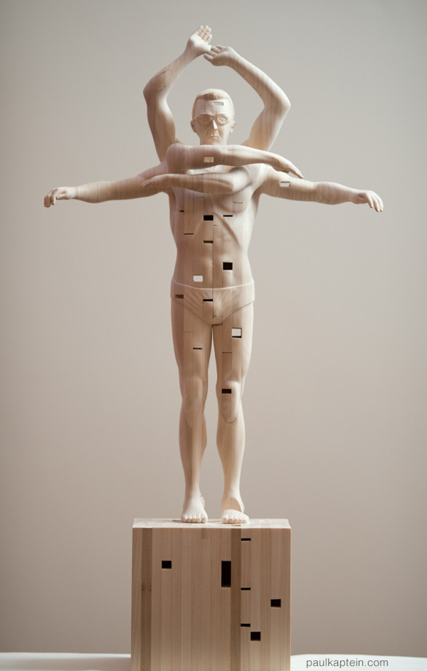 Limber - Sculpture by Paul Kaptein