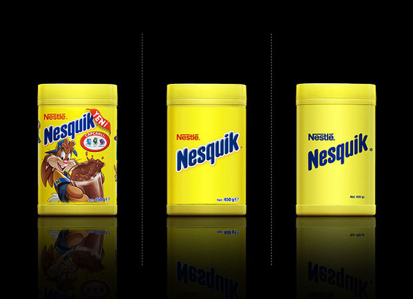 Nesquick - Minimalist Effect in the Maximalist Market - Design by Antrepo