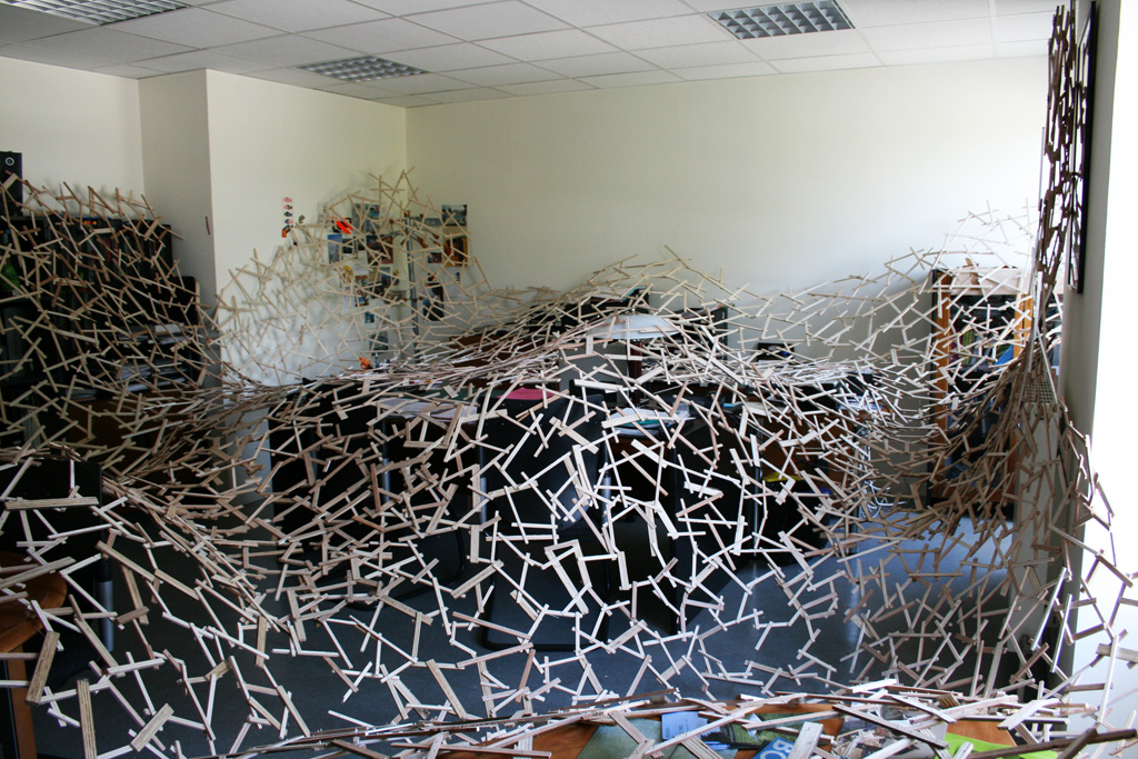 Bureau de la Direction - Installation Art by Simon Augade