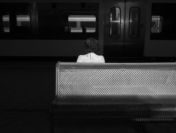 Changing Trains - Photo by Rupert Vandervell