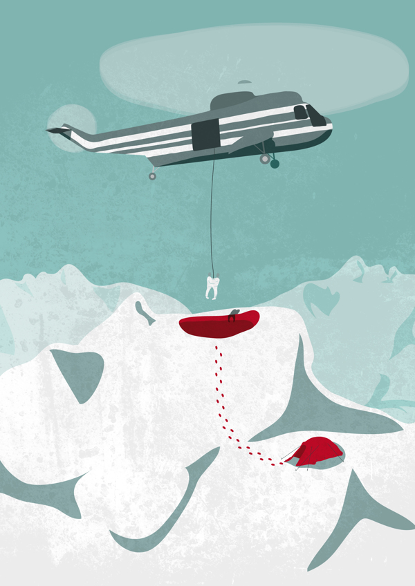 Dental Rescue - Illustration by Victor Cavazzoni