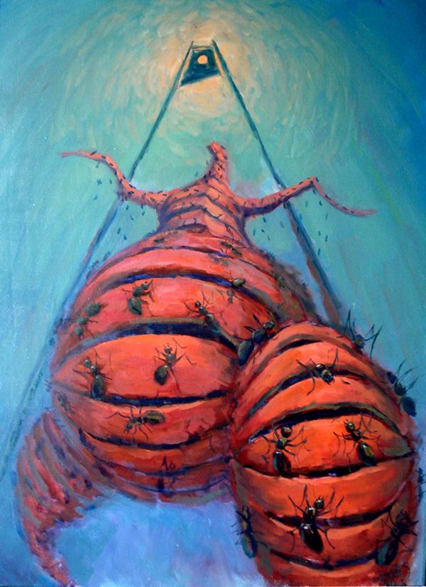 Communism - Painting by Dmitry Savchenko