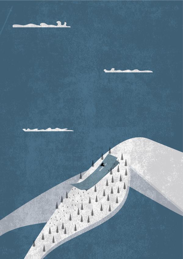 Legscape - Illustration by Victor Cavazzoni