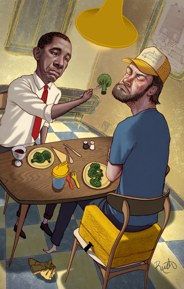 Obamacare - Illustration by Jason Raish