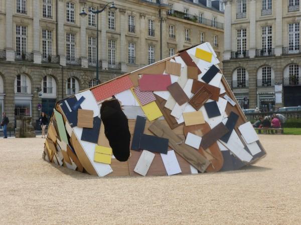 Place de Parlement - Installation Art by Simon Augade