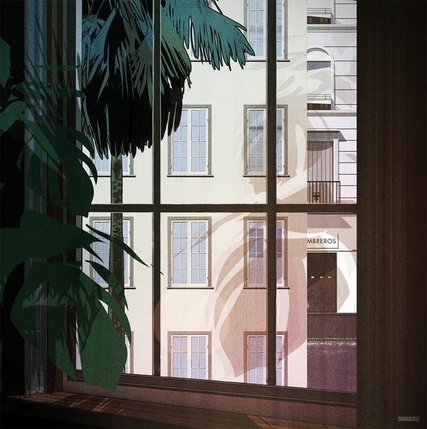 Rear Window - Drawing by María & González