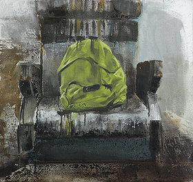 Seat - Painting by Dániel Bajkó