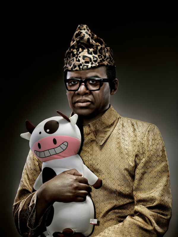 Mobutu Sese Seko with Toy Cow – by Chunlong Sun