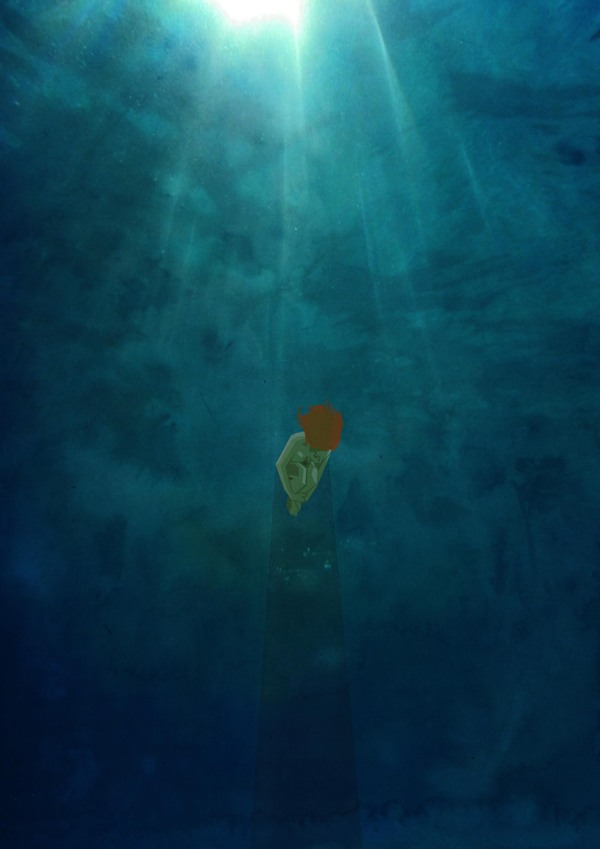 Alone - Ocean - Art by Belhoula Amir