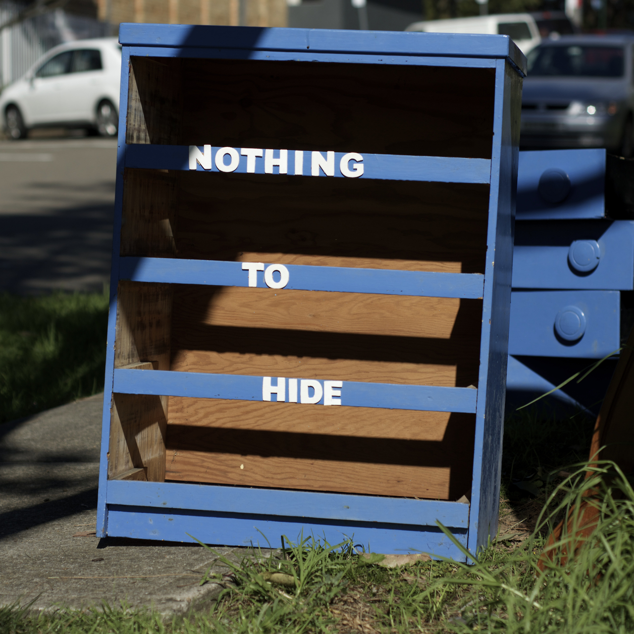 Dresser - Nothing to Hide - Art by Miguel Marquez Outside