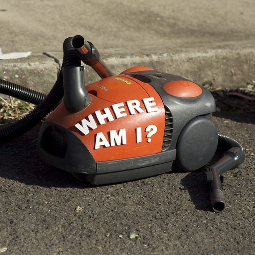 Vacuum - Where Am I?  - Art by Miguel Marquez Outside