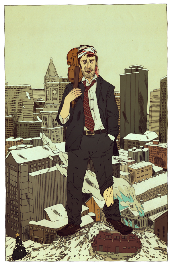 Boston - Illustration by Jon Juarez