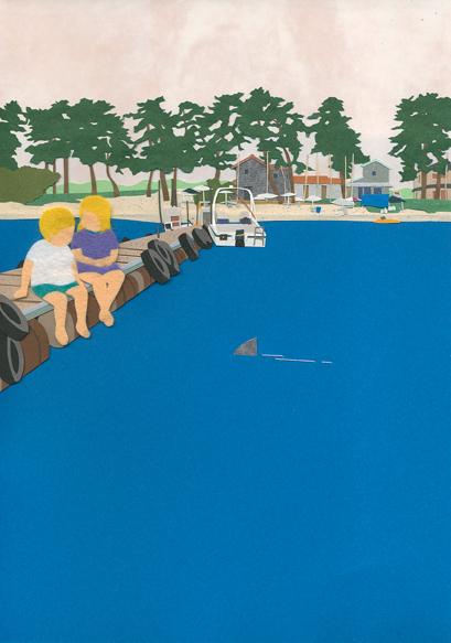 Children Wonder - Illustration by Takeru Toyokura