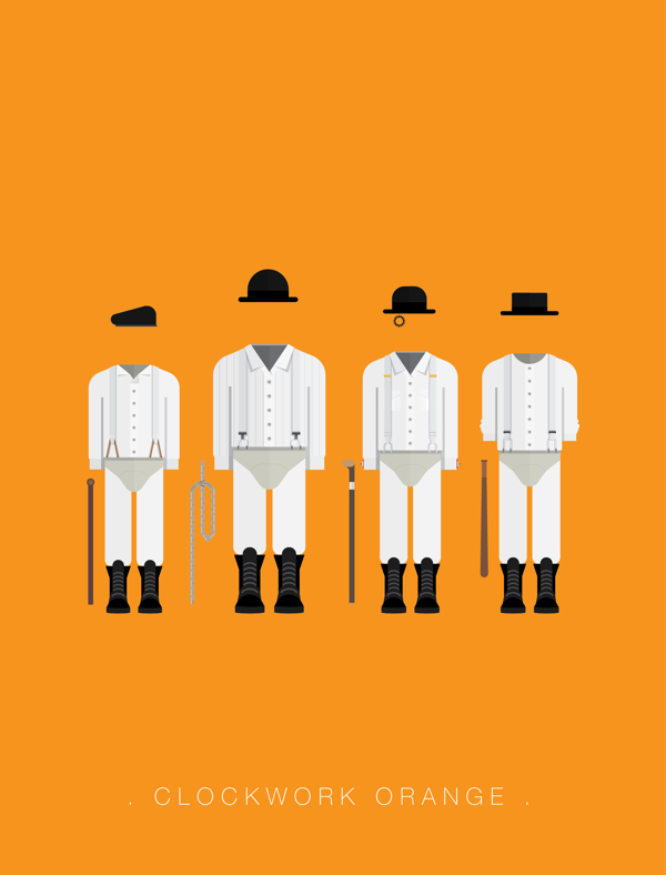 Clockwork Orange - Poster by Frederico Birchal