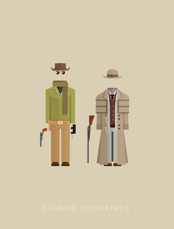 Django Unchained - Poster by Frederico Birchal