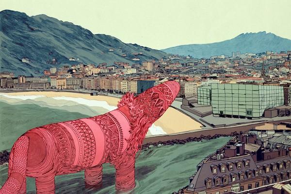 Focaperro - Illustration by Jon Juarez