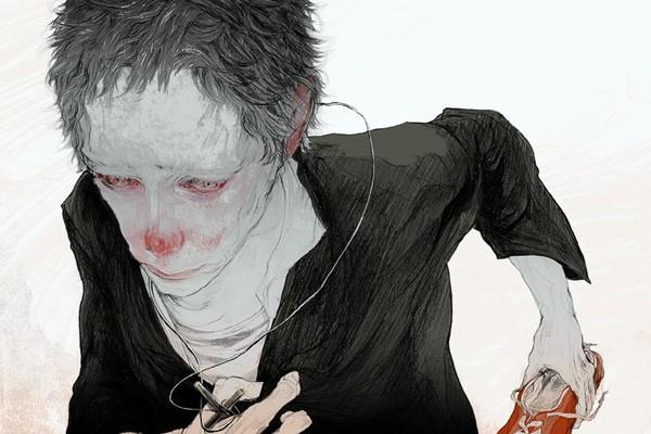 Get Lost - Drawing by Ayu Nakata