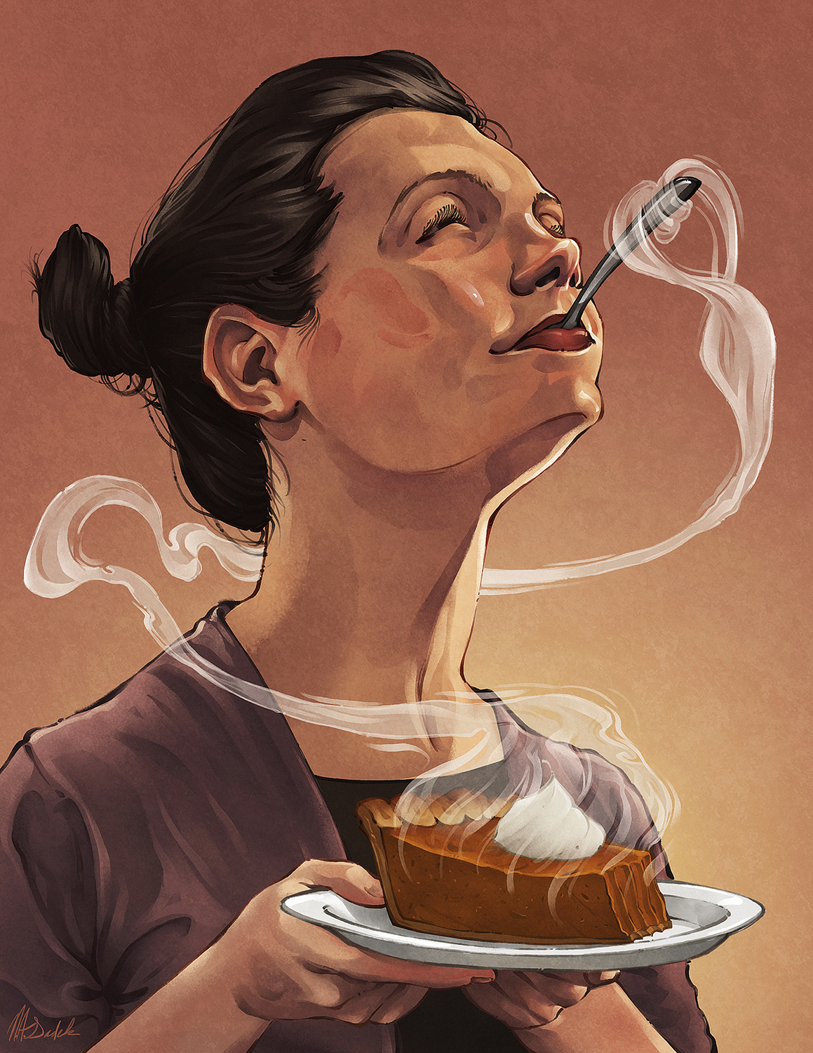 Hedonic Hunger - Illustration by Nick Sadek