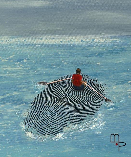 Migration - Cartoon by Mauricio Parra