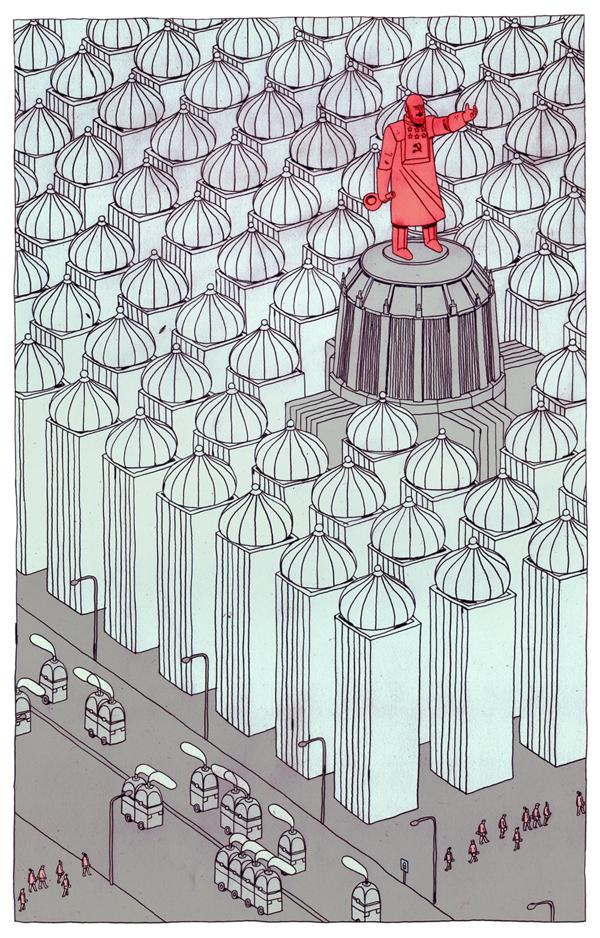 Moscú 2042 - Illustration by Jon Juarez