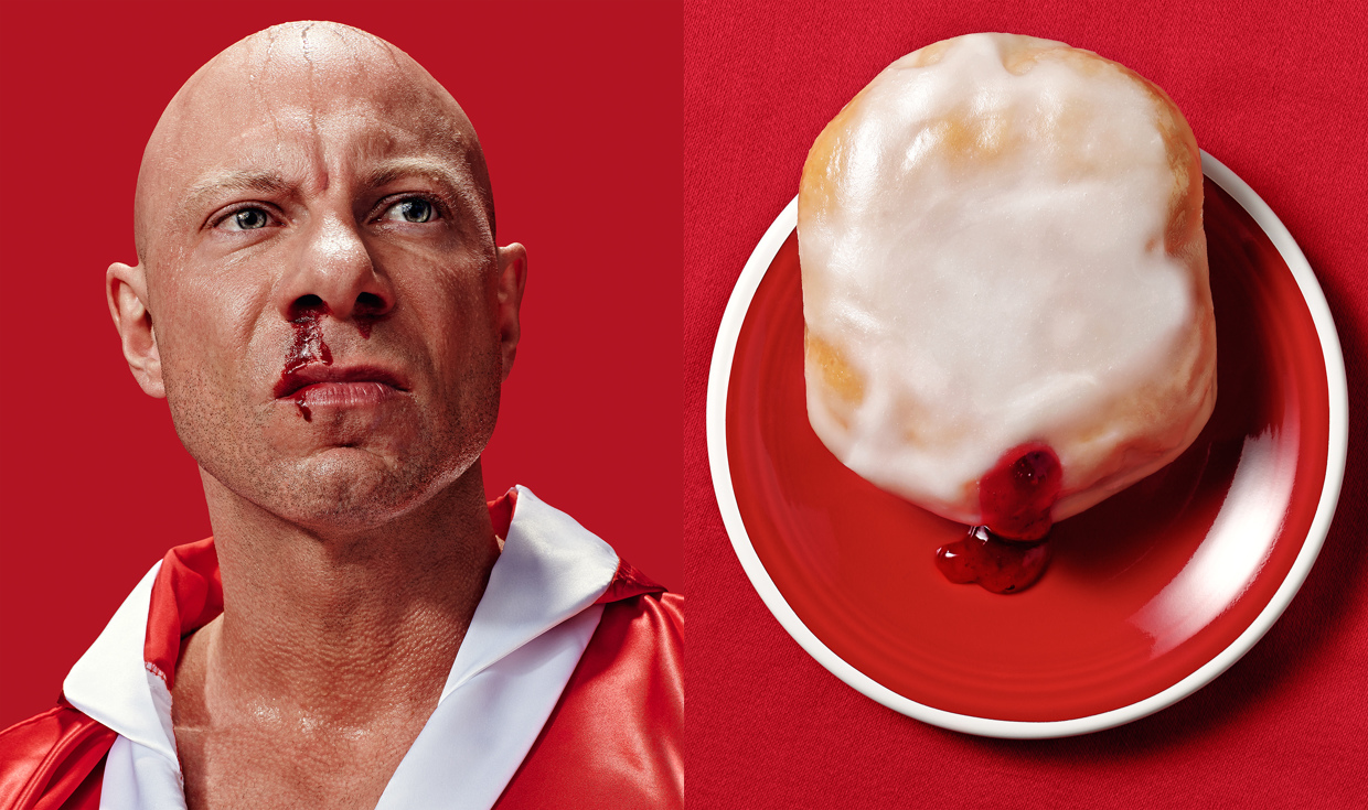 Strawberry Punch - Donut Doubles - Photograph by Bruton Stroube