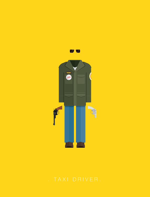 Taxi Driver - Poster by Frederico Birchal