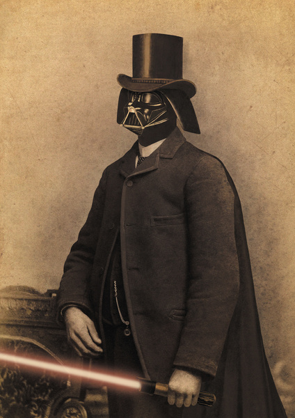 Lord Vadersworth - Victorian Wars - Star Wars Art by Terry Fan