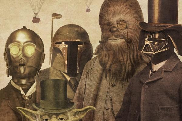 Victorian Wars - Star Wars Art by Terry Fan