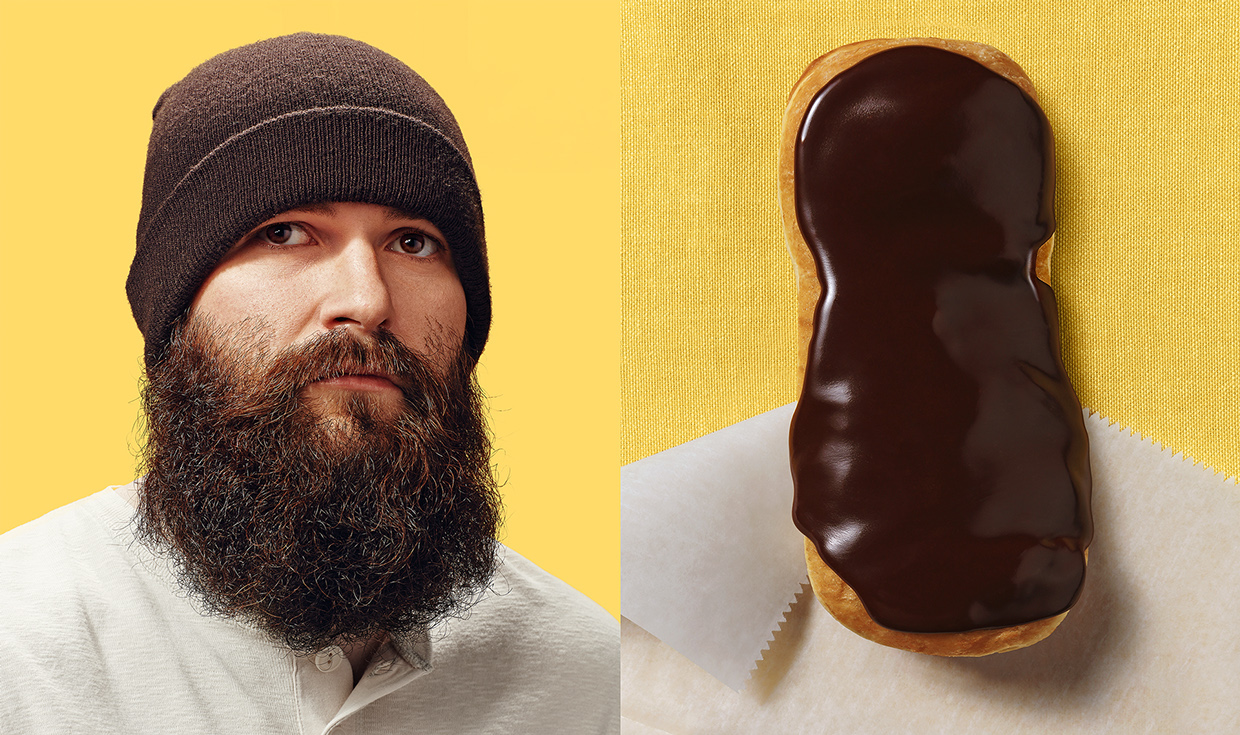 Why the Long Face - Donut Doubles - Photograph by Bruton Stroube