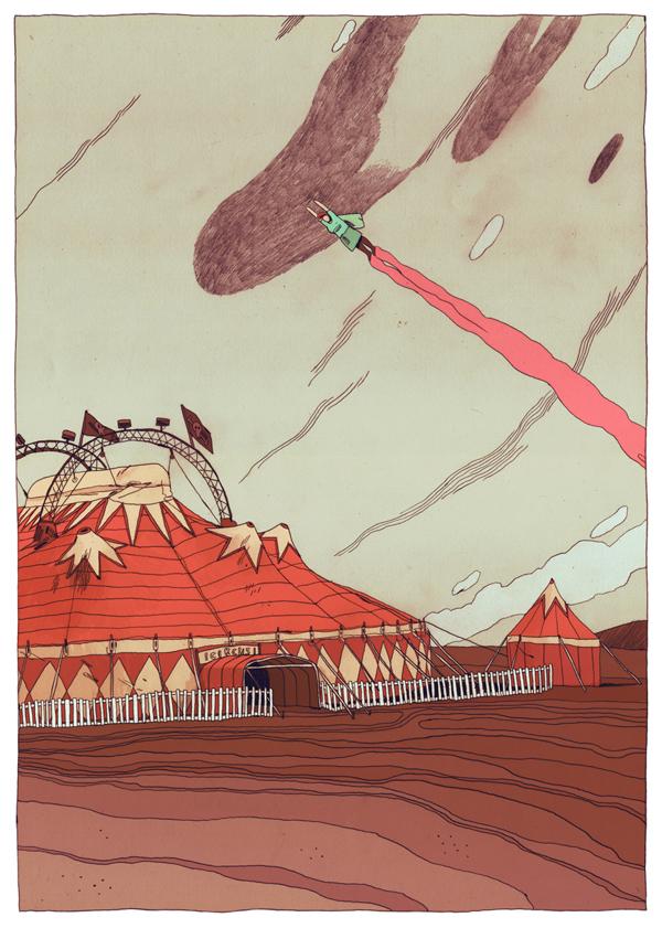 Y así Berlín - Illustration by Jon Juarez