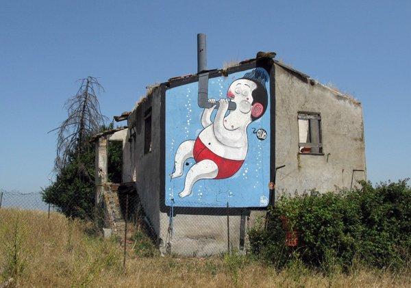 GLUG!  - Mural by Mister Thoms - Diego Della Posta