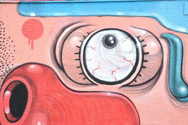 Personal Hygiene - Mural by Mister Thoms - Diego Della Posta