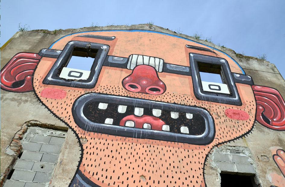 Nerd Power - Mural by Mister Thoms - Diego Della Posta