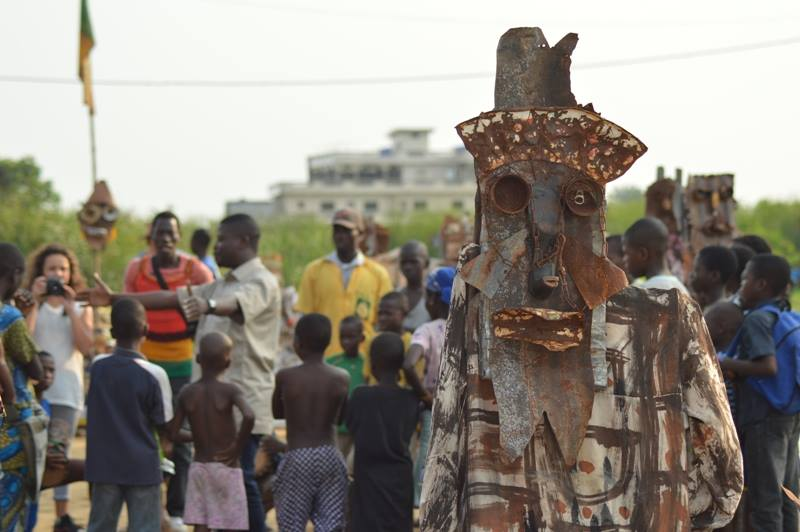 The Beginning of the End of History - Sculptures by Roland Akouèdénoudjè