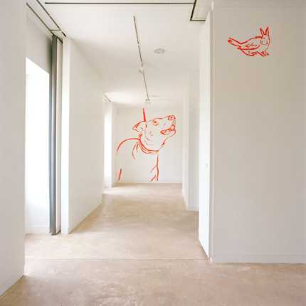 Maison des Arts, Malakoff, 2006 - Wall Drawing - Installation Art by Françoise Pétrovitch