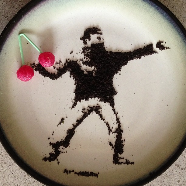 Banksy Oreo - Art by Tisha Cherry @tishacherry